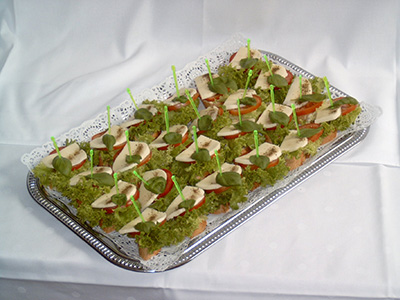 Landhotel Billing,  Catering, Fingerfood